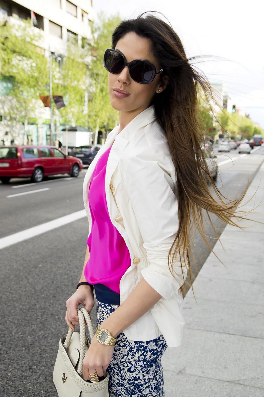 Andrea Garcia Play roberto verino street style: andrea gara, happiness&good mood
