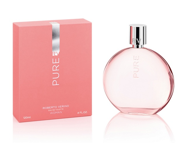 estuche y frasco de RV Pure Woman