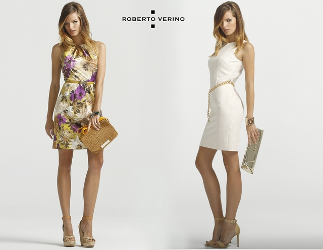 Dresses Roberto Verino Summer 2014