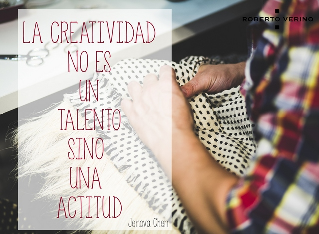 Creativity is not a talent but an attitude