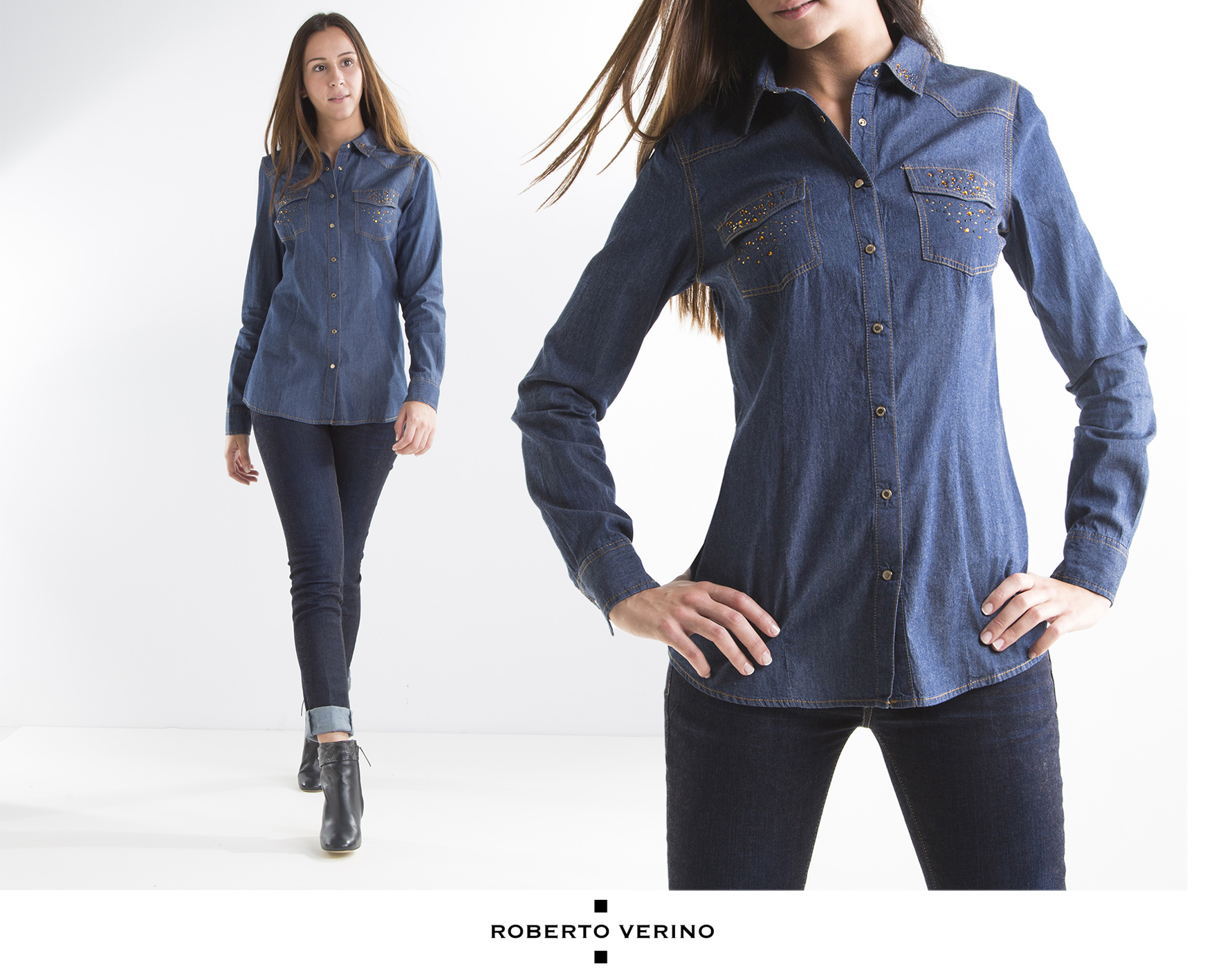 Denim shirt - Roberto Verino