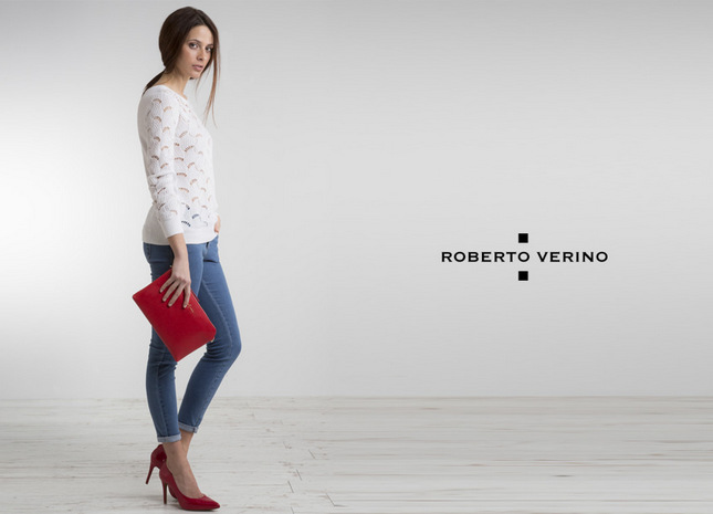 Roberto Verino - Escarpin Anvers rouge