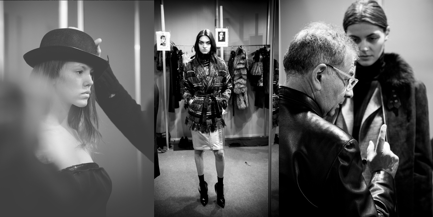 Discover what goes on backstage at Roberto Verino's Autumn– Winter 2015-16 fashion show