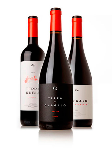 Red wines from the Gargalo lands