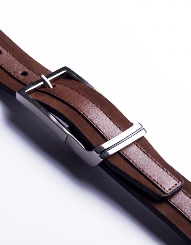 Cinturón ante y napa