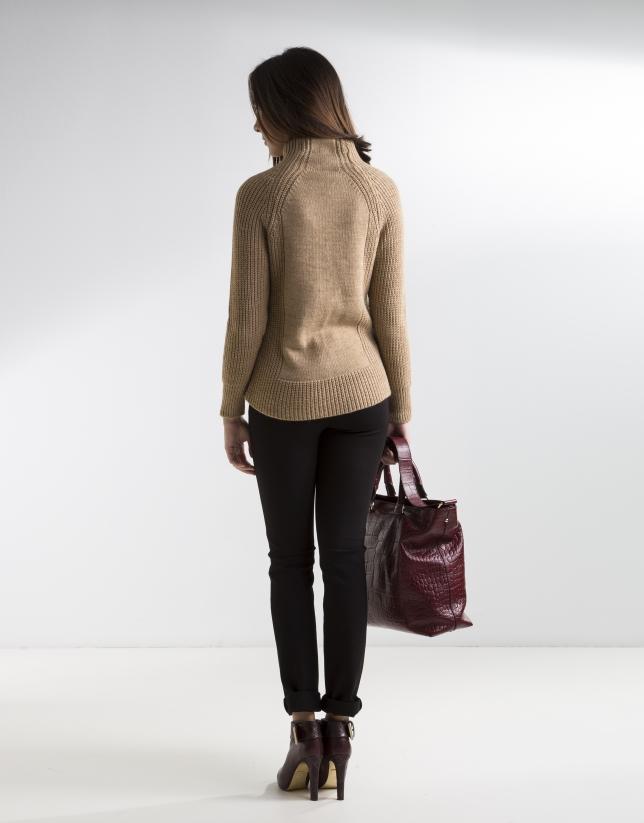 Jersey marrón
