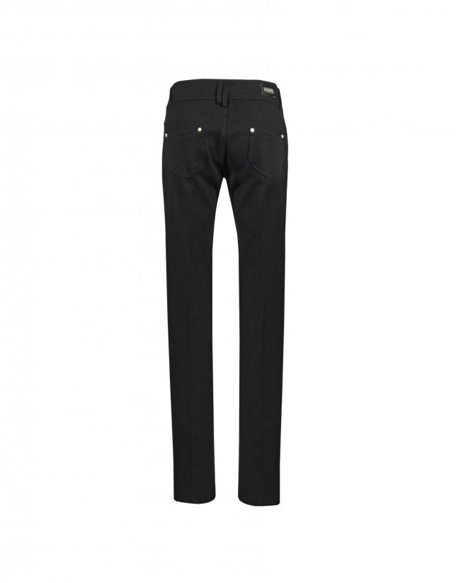 Jeans elásticos negro