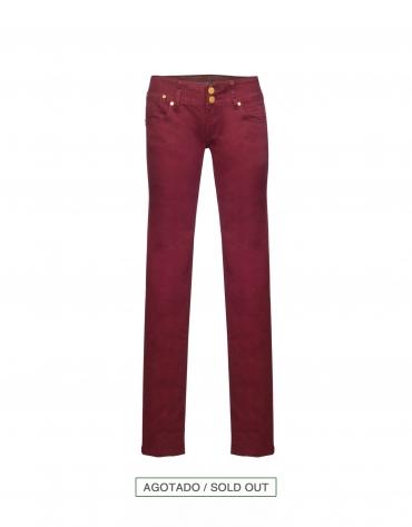 Bordeaux skinny jeans