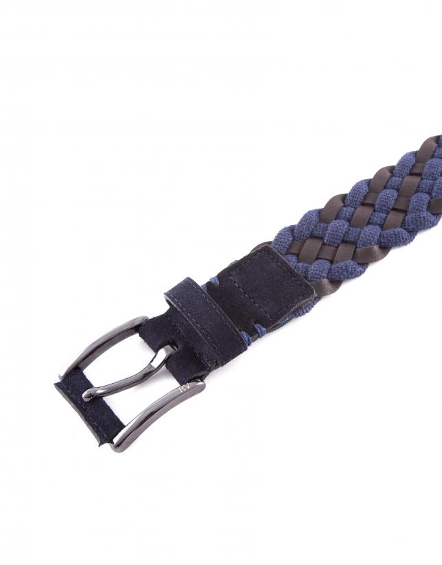 Braided belt