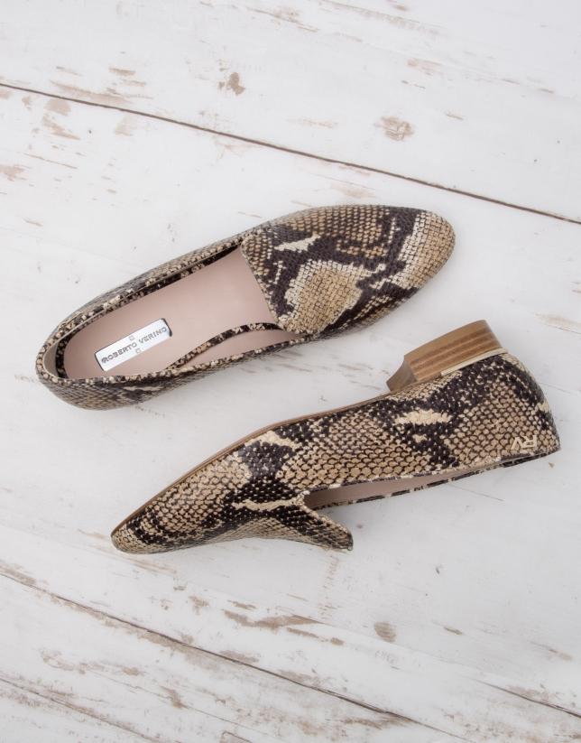 Florence snakeskin