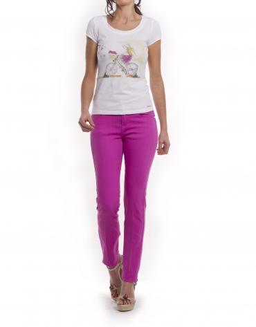 Pantalón 6 bolsillos algodón-elastán