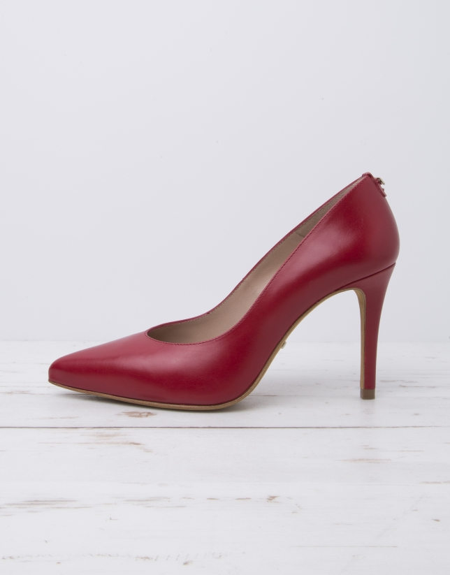 Escarpin Anvers rouge