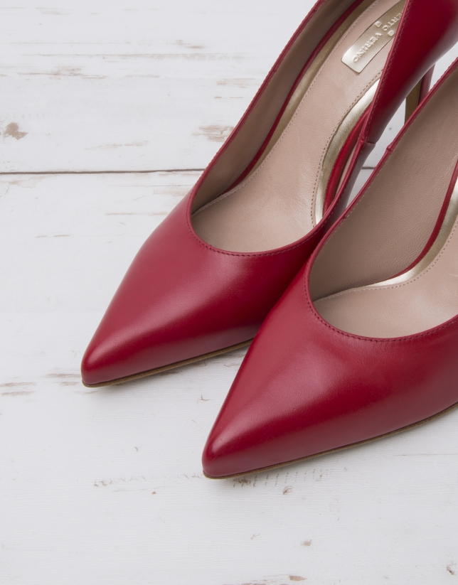 Red Amberes pumps