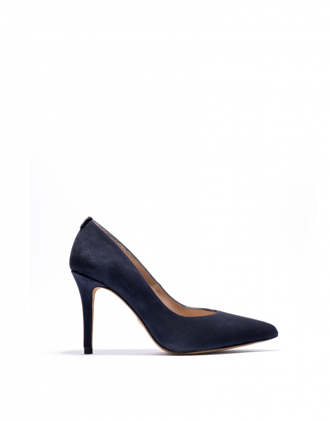 Navy Amberes pumps
