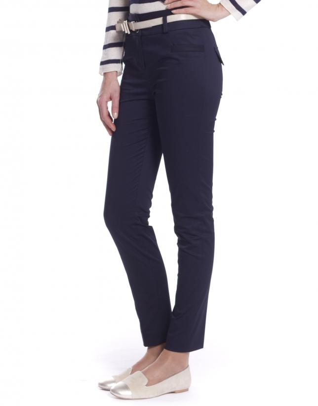 High waisted skinny pants