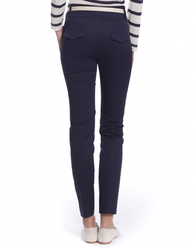High waisted skinny pants