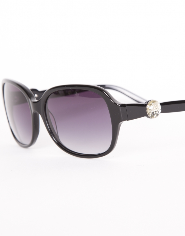 Oversize lady sunglasses in Matt Grey color