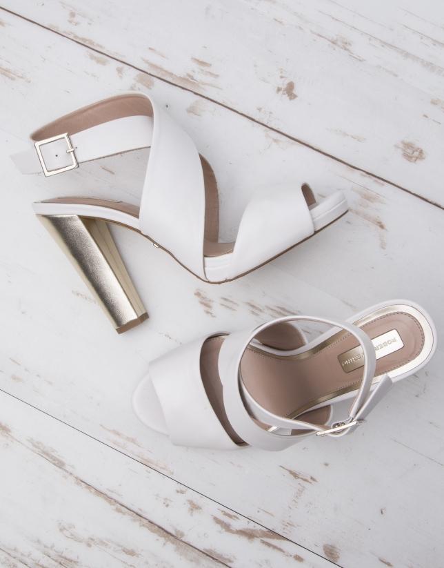 Sandale Rio blanche