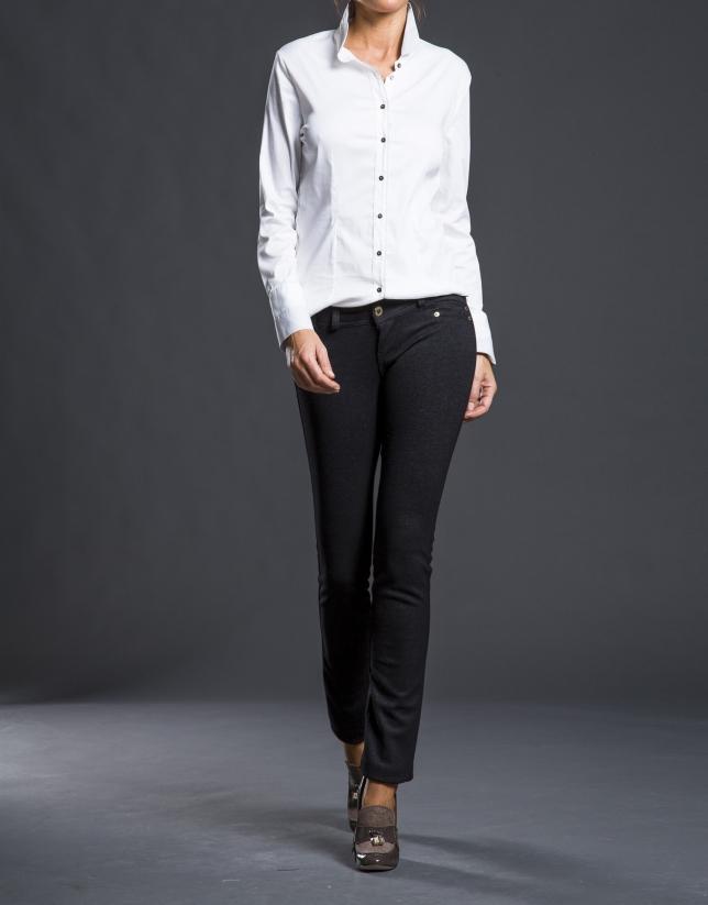 Grey skinny pants