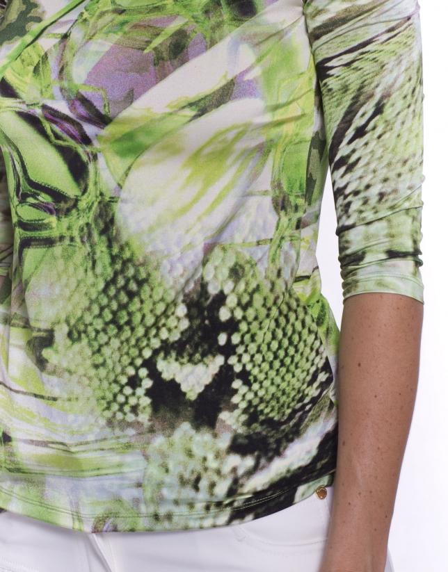Tee-shirt à motif animal