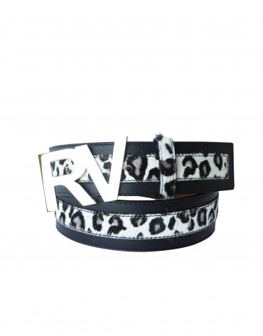 Cow belt with logo RV