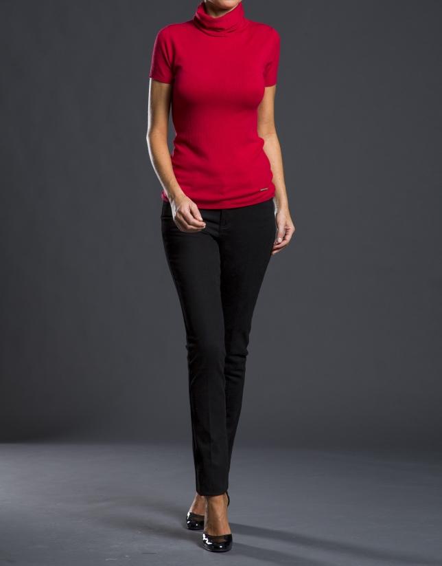 Black jeans with design on back