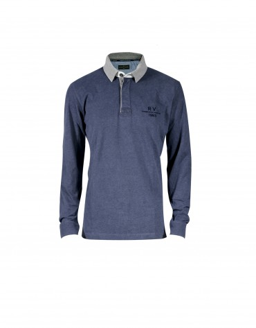 Mix grey  polo shirt