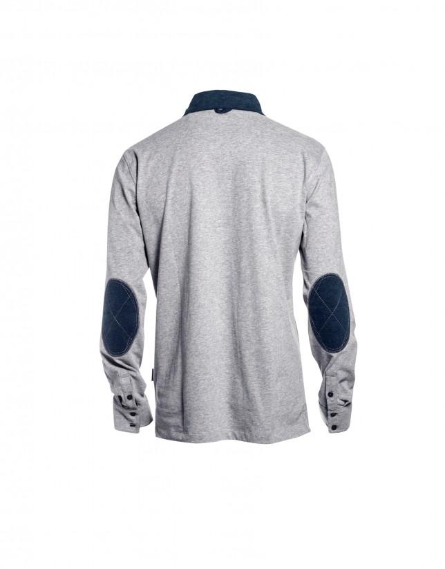 Mix blue  polo shirt