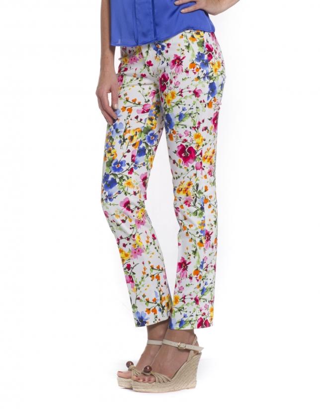 Pantalon motif sylvestre
