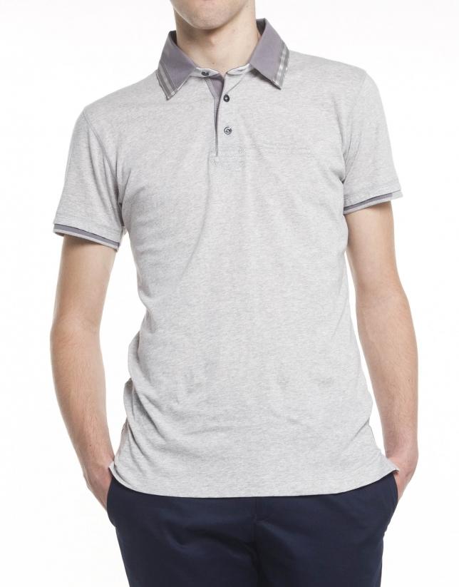 Embroidered polo shirt