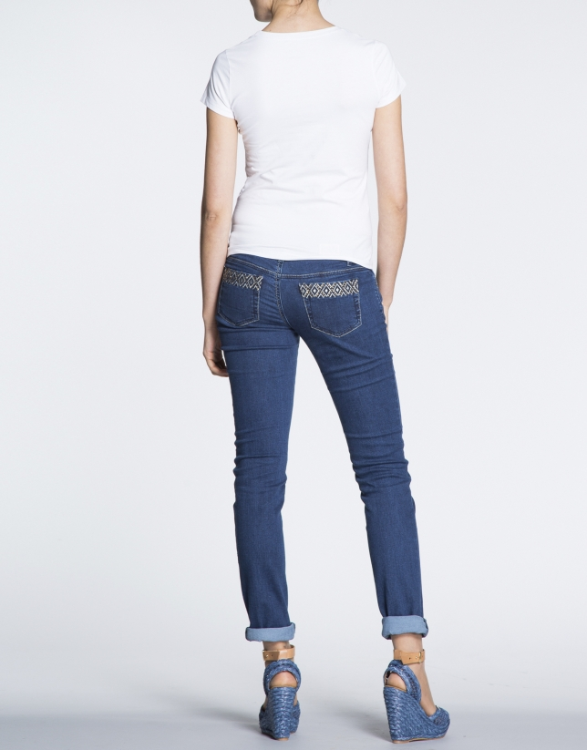 Pantalon jean denim