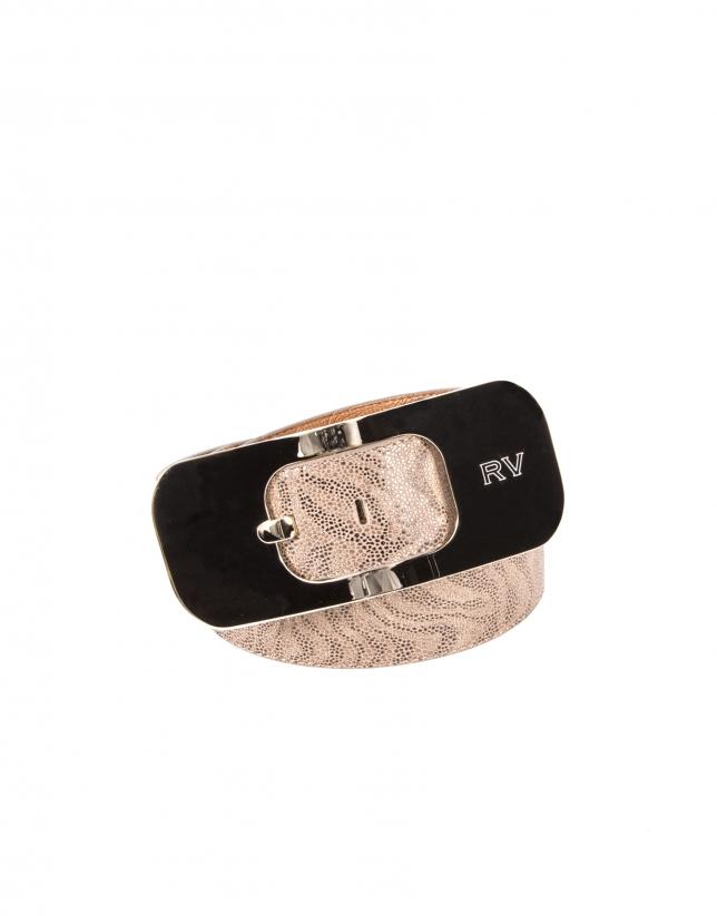 Light gold belt
