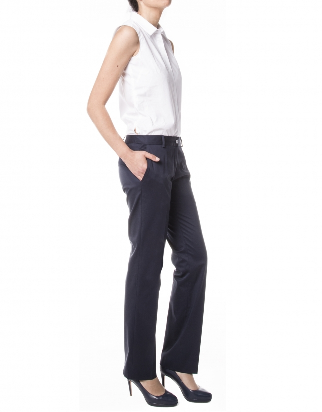 Navy blue pants