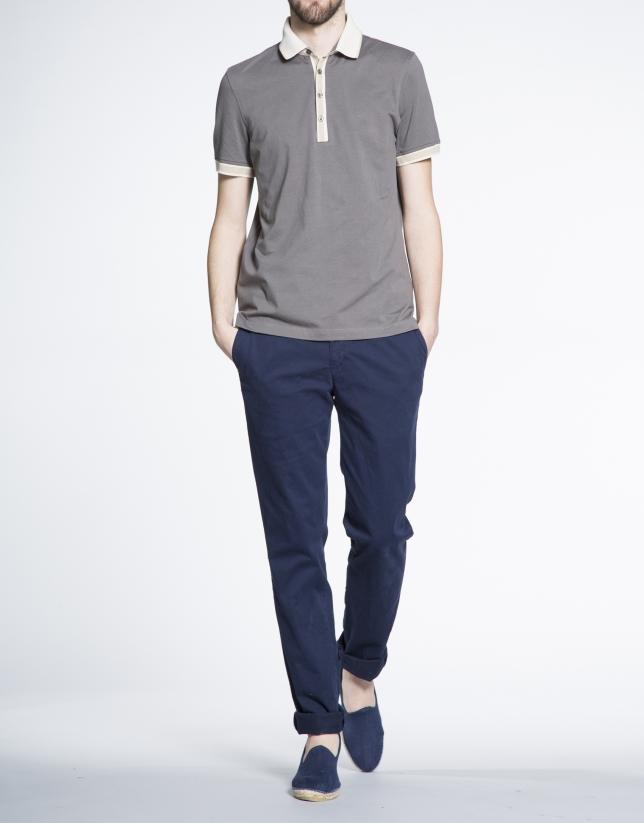 Plain khaki top