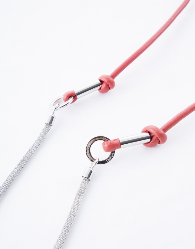 Cinturón cordón rojo