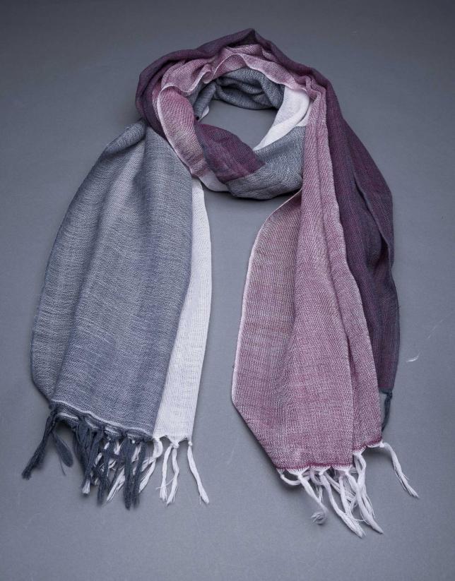 foulard tricolor