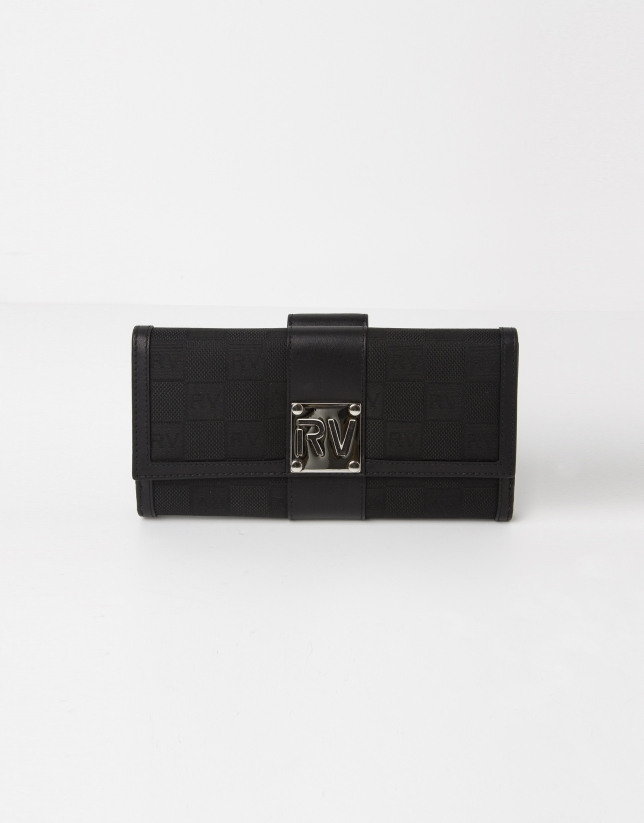 Black jaquard RV billfold