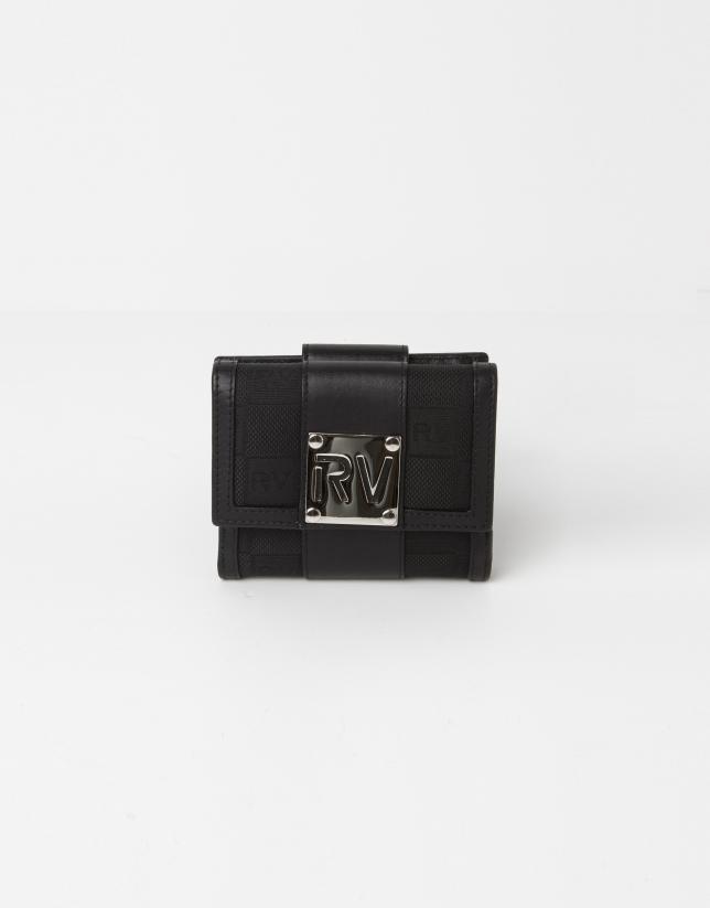 Black jaquard RV small billfold