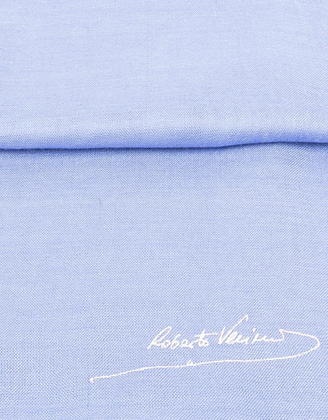 tole unie bleue