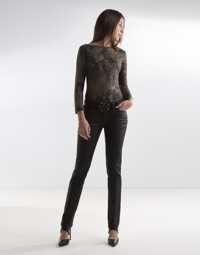 Pantalon en fantaisie noir