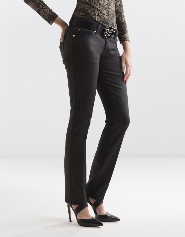 Black fancy pants
