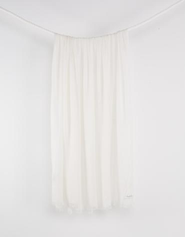 Foulard liso beige
