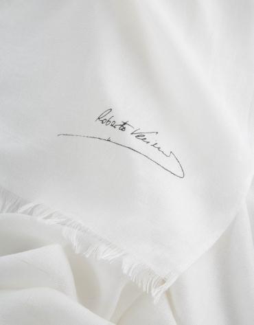 Foulard liso crudo