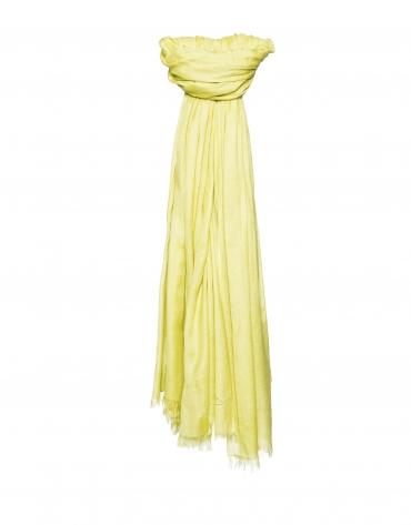 Plain yellow scarf