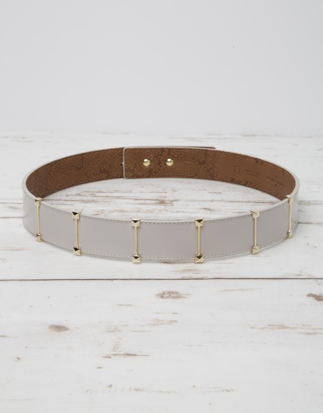 Cinturón piel natural