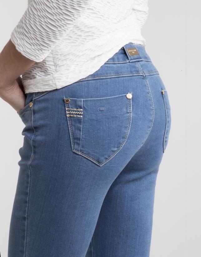 Pantalon en denim stretch