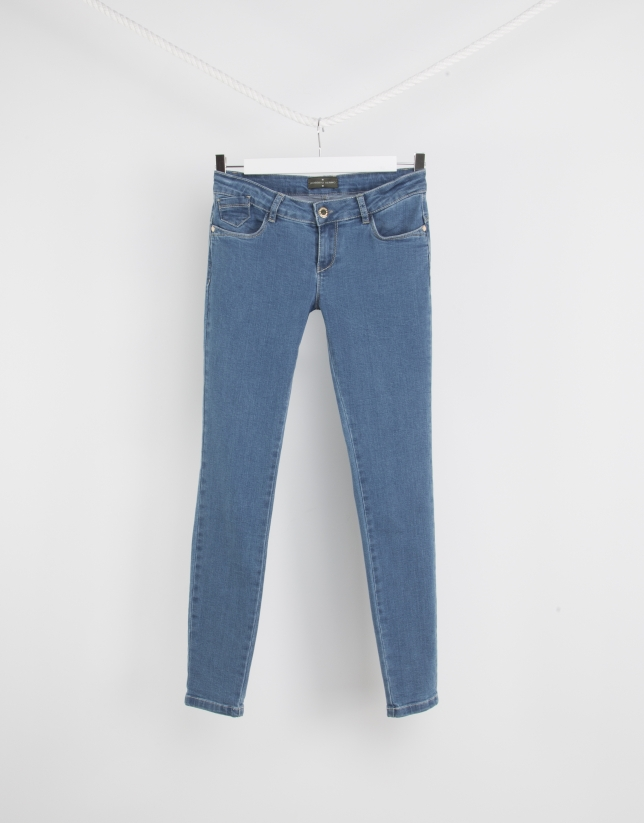 Pantalon en denim stretch
