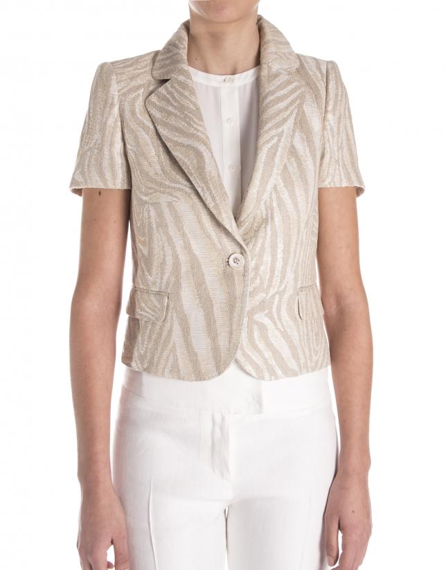 Brown short jacket