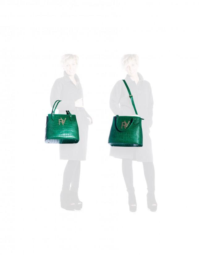 Bolso Cocó grande verde