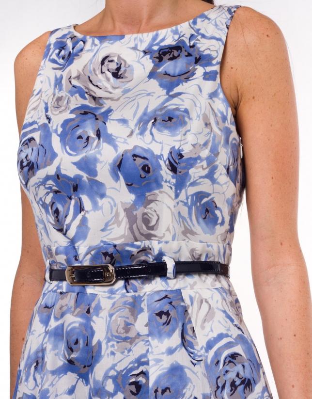 Cotton print dress